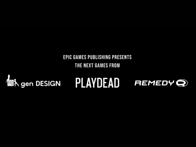 Epic Games, Remedy, Playdead ve genDESIGN ile Anlaştı!